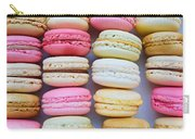 French Delicious Dessert Macaroons Carry-all Pouch