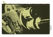 French Emel Shady Moss Carry-all Pouch