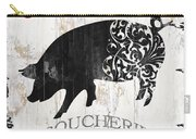 French Farm Sign Piglet Carry-all Pouch