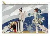 French Fashion Ad, 1923 Carry-all Pouch