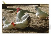 French Fowl Carry-all Pouch
