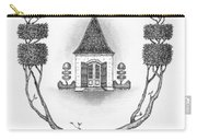 French Garden House Carry-all Pouch