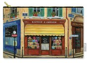 French Hats And Purses Boutique Carry-all Pouch by Marilyn Dunlap