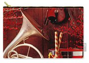 French Horn Christmas Still Life Carry-all Pouch