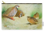French Partridge By Thorburn Carry-all Pouch