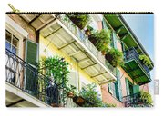 French Quarter Balconies - Nola Carry-all Pouch