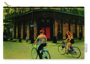 French Quarter Flirting On The Go Carry-all Pouch