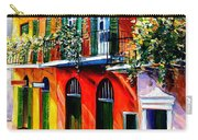 French Quarter Sunshine Carry-all Pouch