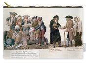 French Revolution, 1795-96 Carry-all Pouch