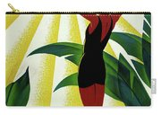 French Riviera, Girl On The Beach, France Carry-all Pouch