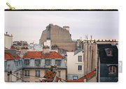 French Rooftops  Carry-all Pouch