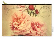 French Rose Bouquet Carry-all Pouch