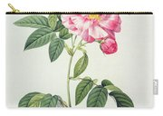 French Rose Carry-all Pouch by Pierre Joseph Redoute