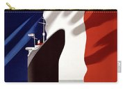 French Shipping Line Poster Carry-all Pouch