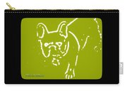 Frenchielove Design Chartreuse Carry-all Pouch