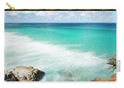 Frenchmans Beach On Stradbroke Island, Queensland. Carry-all Pouch