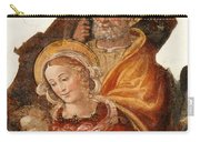 Fresco Holy Family Carry-all Pouch