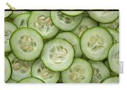 Fresh Cucumbers Carry-all Pouch