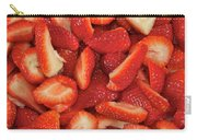 Fresh Cut Strawberries Carry-all Pouch