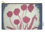 Fresh Flowers- 1st In Series-morning Shadow Carry-all Pouch