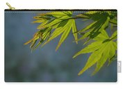 Fresh Green Leaves Carry-all Pouch