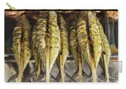 Fresh Grilled Asian Fish In Kep Market Cambodia Carry-all Pouch