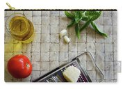Fresh Italian Cooking Ingredients Carry-all Pouch