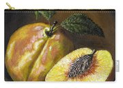Fresh Peaches Carry-all Pouch by Adam Zebediah Joseph