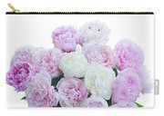 Vase Of Peonies Carry-all Pouch