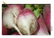 Fresh Radish Harvest. Carry-all Pouch
