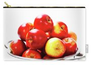 Fresh Red Apples In Metal Colander Carry-all Pouch