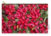 Fresh Red Radishes Carry-all Pouch