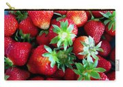 Fresh Ripe Perfect Strawberry Carry-all Pouch