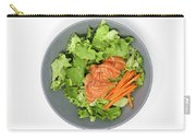 Fresh Seafood Salad With Smoked Salmon Carry-all Pouch