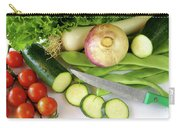 Fresh Vegetables Carry-all Pouch by Carlos Caetano