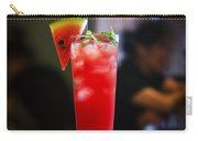 Fresh Watermelon Juice And Vodka Cocktail Drink Carry-all Pouch