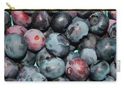 Freshly Picked Blueberries Carry-all Pouch