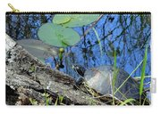 Freshwater Turtle Sunning Carry-all Pouch