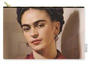 Frida Kahlo Live Carry-all Pouch
