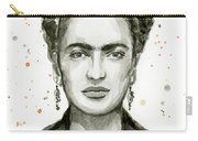 Frida Kahlo Portrait Carry-all Pouch