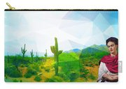 Frida Sonora Carry-all Pouch by MB Dallocchio