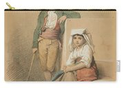 Friedrich Gonne  Two Italian Youths Carry-all Pouch