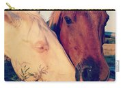 Friendly Horses Carry-all Pouch