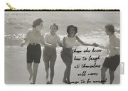 Friendship Dance Quote Carry-all Pouch