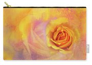 Friendship Rose Textured Carry-all Pouch