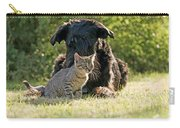 Friendships In The Animal World Is Possible Carry-all Pouch