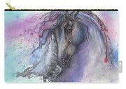 Friesian Horse 2015 12 24 Carry-all Pouch