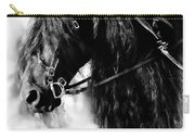 Friesian Horse Beauty Carry-all Pouch