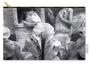 Frieze Work In Black And White  Carry-all Pouch