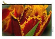 Fringe Tulip Carry-all Pouch